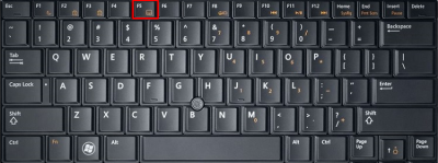 Dell laptop mouse not working