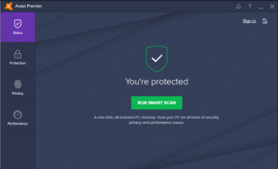 How to Scan Avast